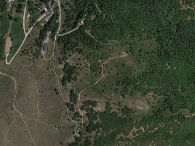 Here's a google map screenshot of the Armstrong Ranch and Pretty Valley
